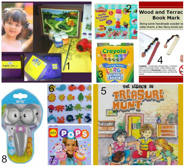 50 Return Gifts For Kids Birthday Party In India-All Under