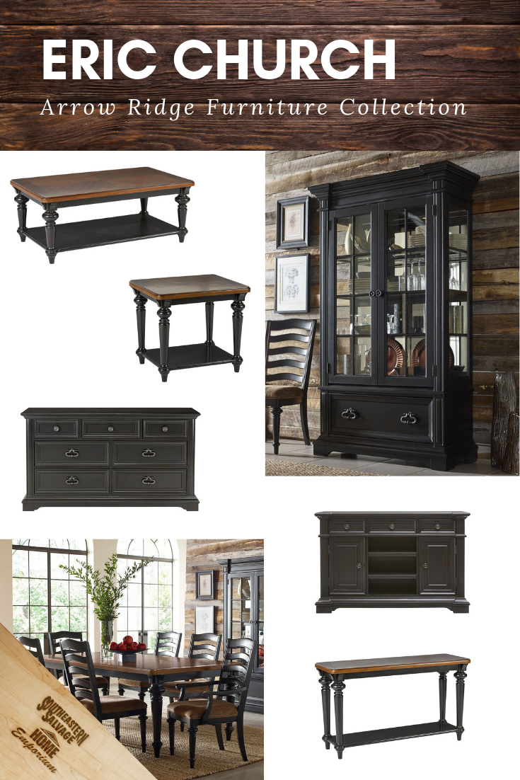 Meet The Eric Church Arrow Ridge Furniture Collection These