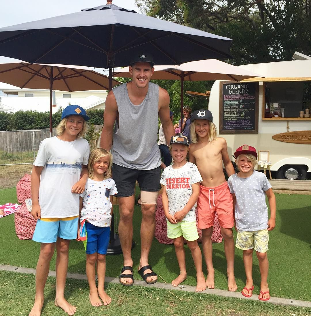 The boys were thrilled to catch up with Zac Smith today @natural_harry. He was telling the boys how much he loves Barwon Heads. All the best with your first year @geelongcats Zac!  #gocats #bringonthefootyseason #barwonheads #oceangrove #footyfans #holidays #bellarinepeninsula #bellarineproperty by bellarineproperty http://ift.tt/1JO3Y6G