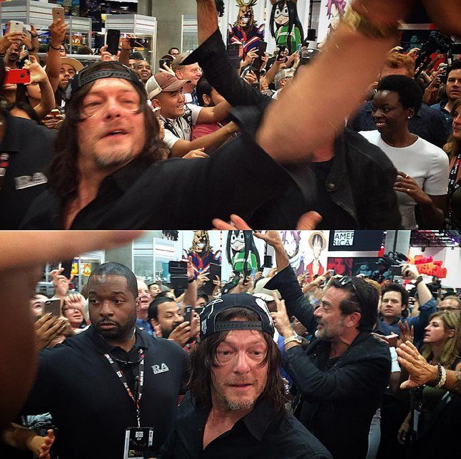 Most beautiful face at #SDCC2016
