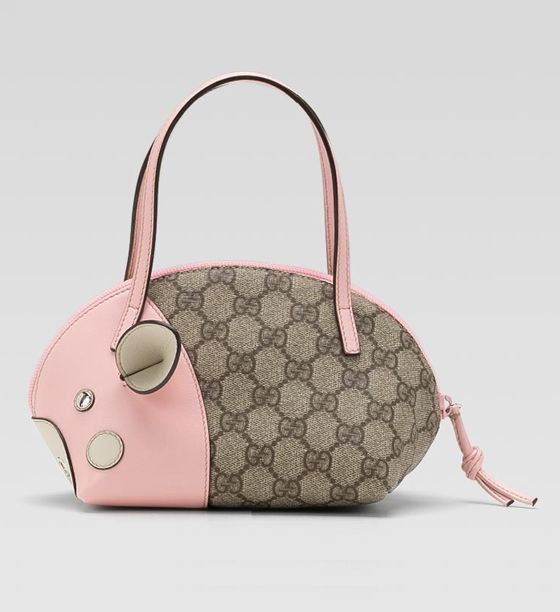 12d70cd5c1bfa3 GUCCI ZOO COLLECTION PIG CHANGE PURSE on | Abell Auction | Change ...