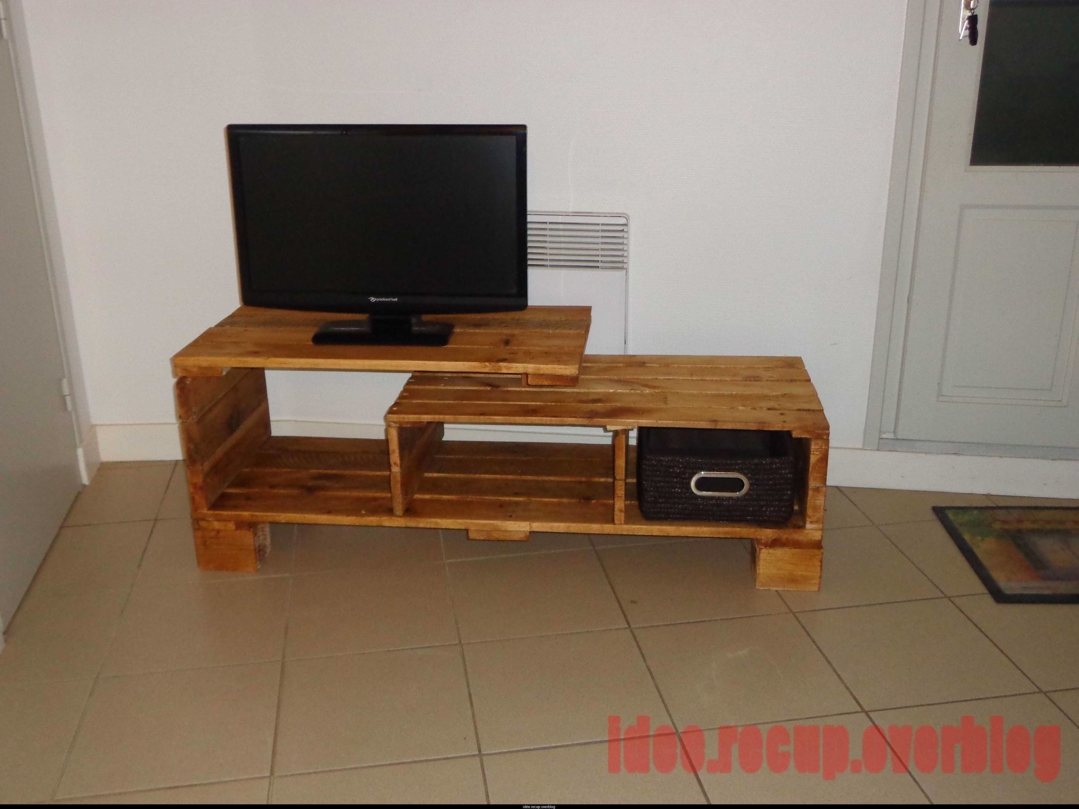 Meuble Tv En Palette A Faire Garage Pinterest # Lime Meuble Tv
