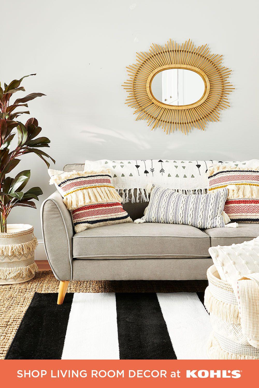 Find living room decor at Kohls.com in 7  Home decor, Bedroom