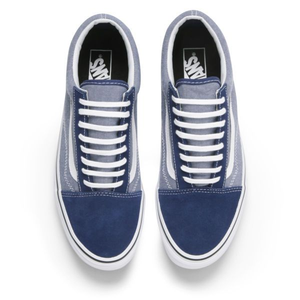 vans old skool estate blue chambray