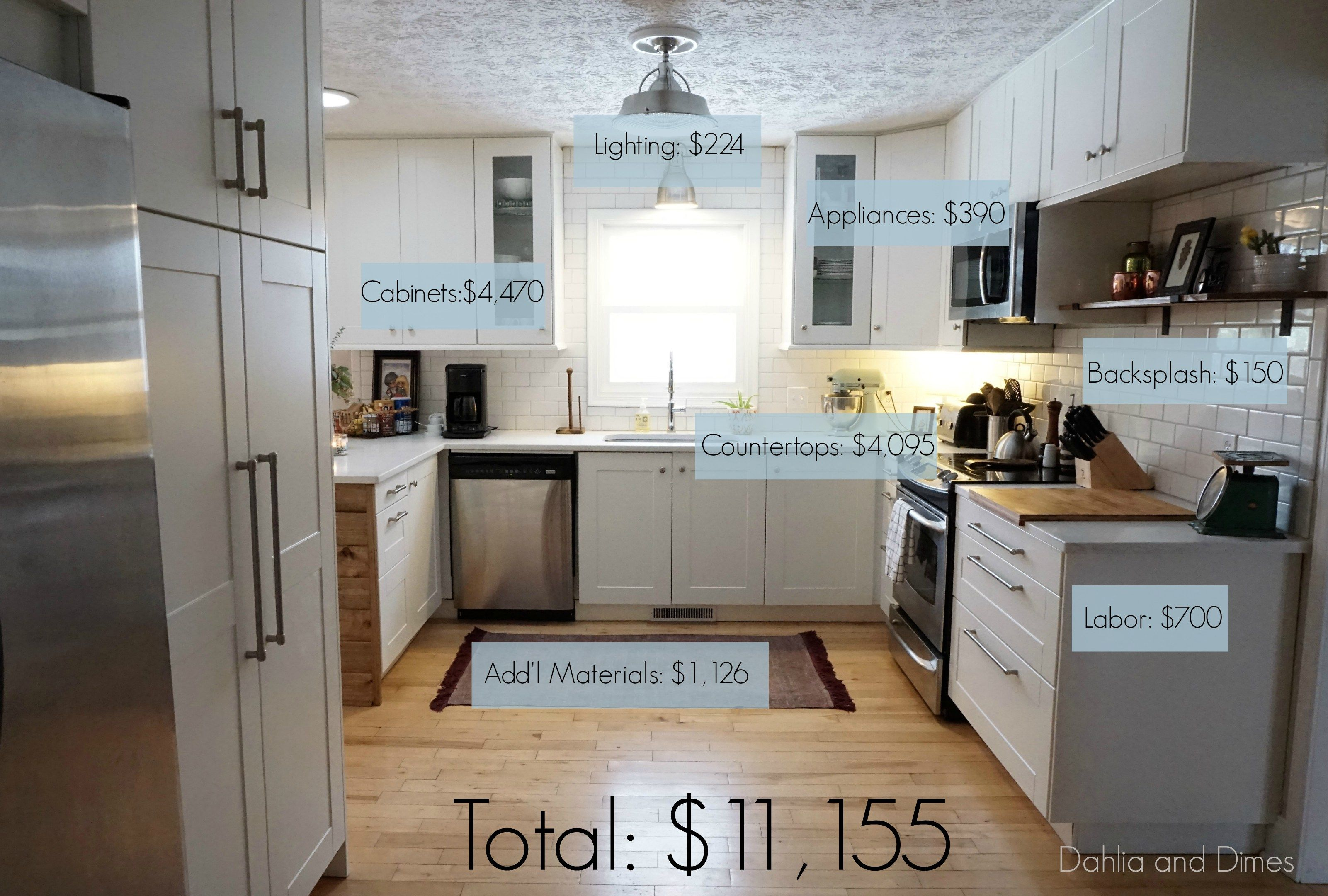 how we saved $10,000 on our kitchen remodel | house remodel