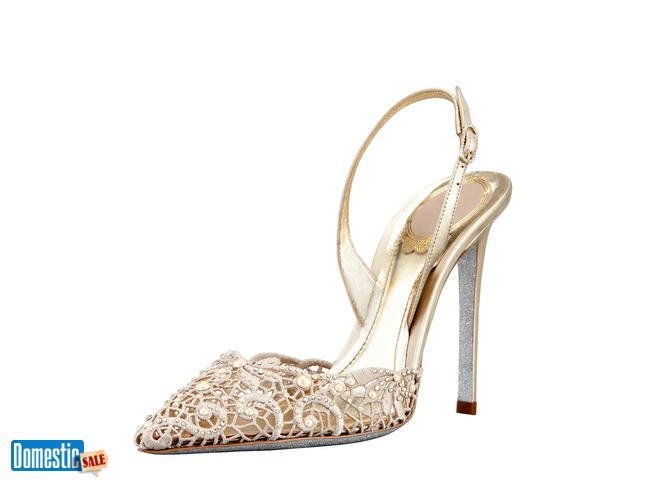 03158a817a0c Rene Caovilla Embellished shoes and sandals here are our collections of  Rene Caovilla sandals coated with pearlescent and crystal embelishments  accompanied ...