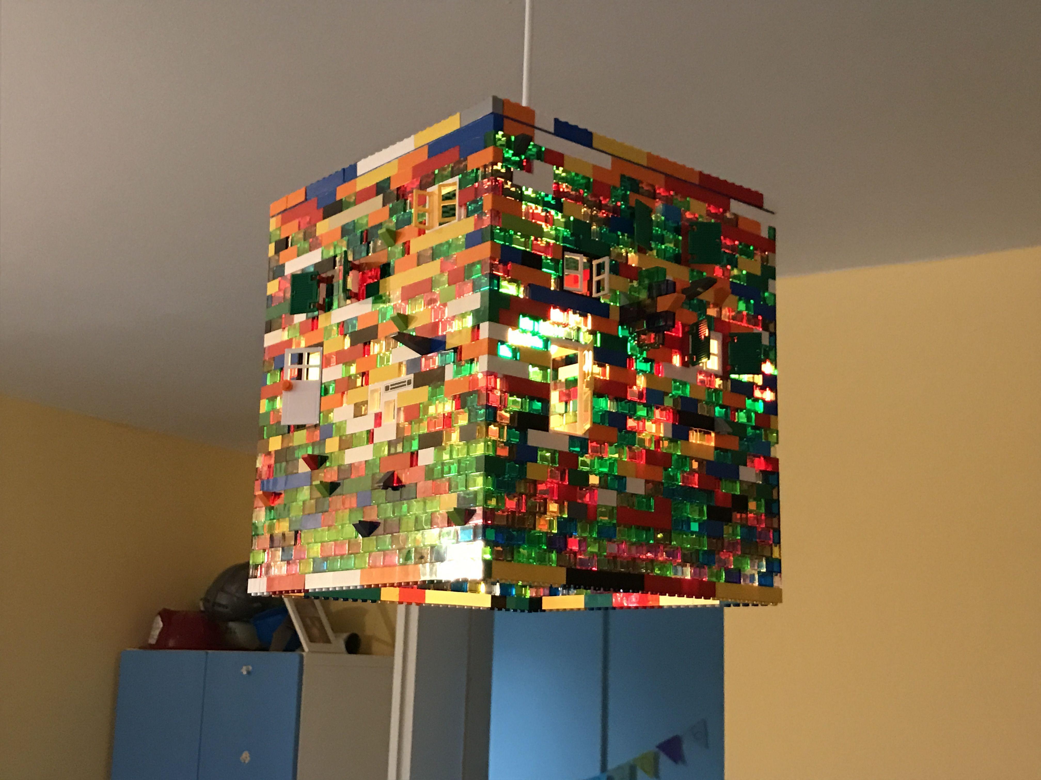 Kinderzimmer · Lego Leuchte Lego Lampe