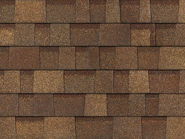 Best Oakridge Aged Cedar Brown Owens Corning Exterior House 640 x 480