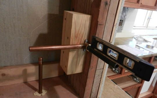 installing a delta pot filler faucet
