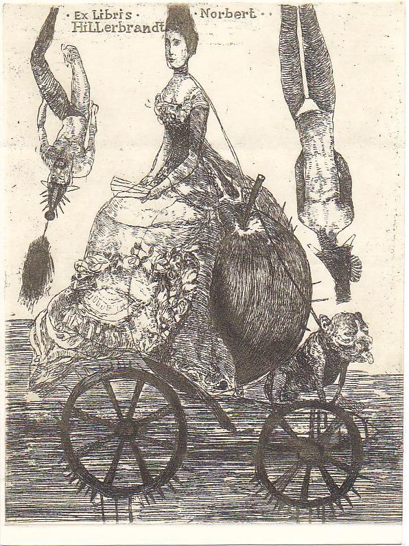 Katarina Vavrova Grafika Ex Libris Exlibris Antikvariat Knihy Bibliofilie Naku Prodej Poster Art Ex Libris Art
