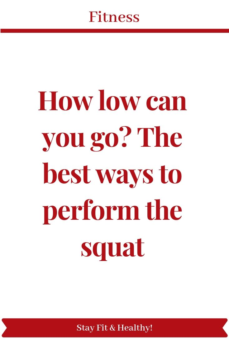 How low can you go? The best ways to perform the squat - Pinterest blogs pinterestblogs.com #fitness...