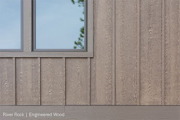 Beautiful fiber cement or engineered wood 4x8, 4x9 & 4x10
