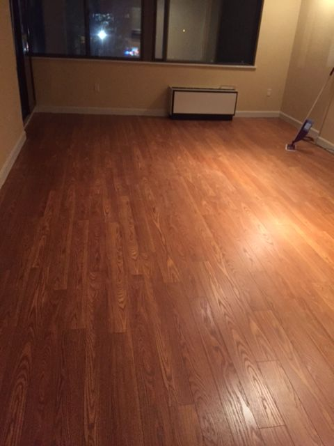 Raving Fan For Butterscotch Oak Laminate These Floors Look Amazing I Was Really Pleased With The Way That They Turned Out I Oak Laminate Laminate Flooring