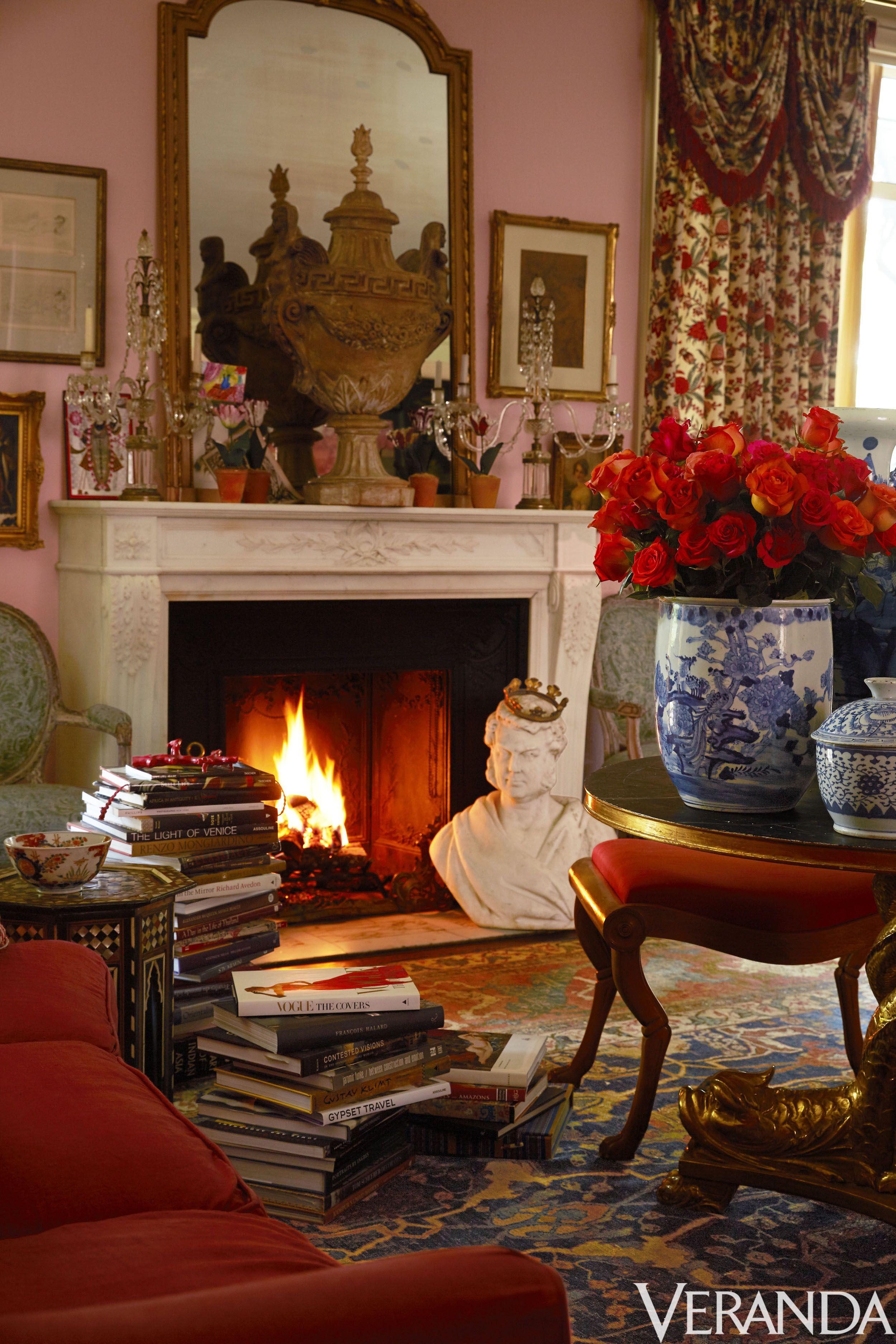 Charmant Land Französisch · Wohnzimmer Ideen · Vignetten · Elegant Worldly Living  Room