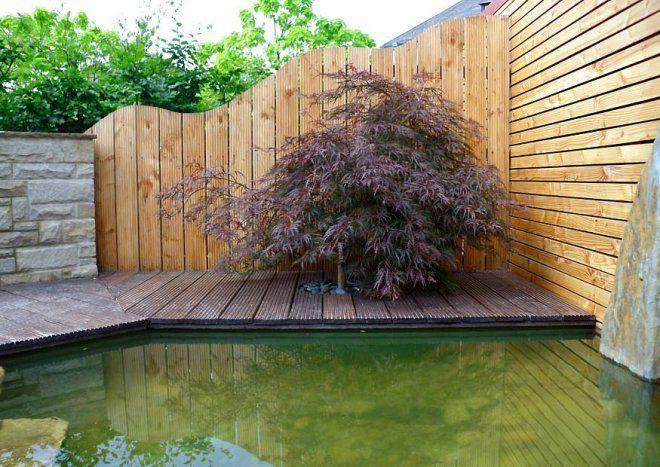 Sichtschutz aus Riffelholz Eigenbau leicht möglich