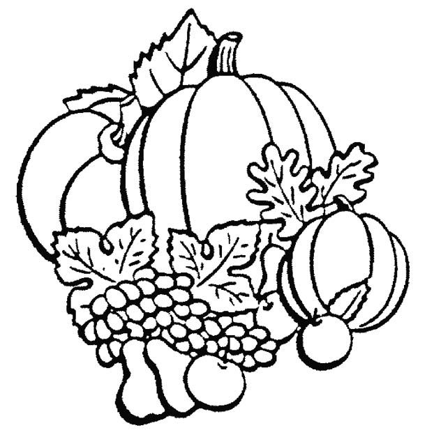 Fall Coloring Page  Print Fall Pictures To Color At Allkidsnetwork