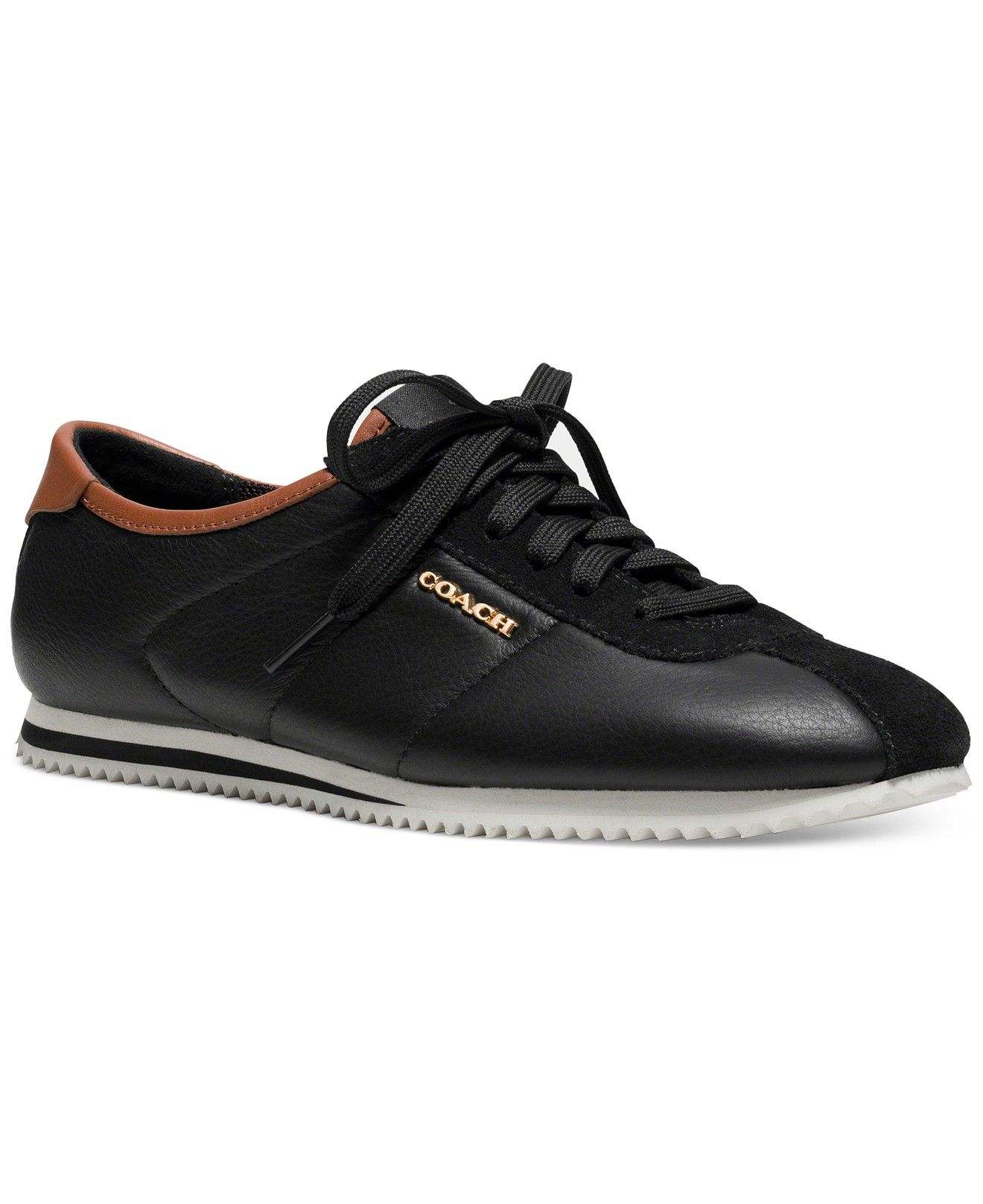 COACH Ivory Leather Sneakers - COACH