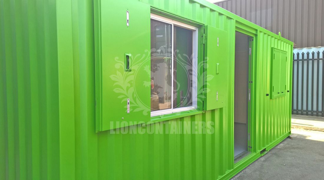 We Supply Windows For Shipping Containers Our Windows Are Secure Anti Vandal And Offer Natural Light Perfect If You Regularly Use Your Container