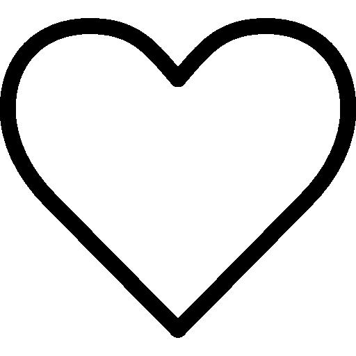 Heart Shape Silhouette Free Vector Icons Designed By Bogdan Rosu Corazones Para Pintar Silueta De Corazon Corazones Para Imprimir