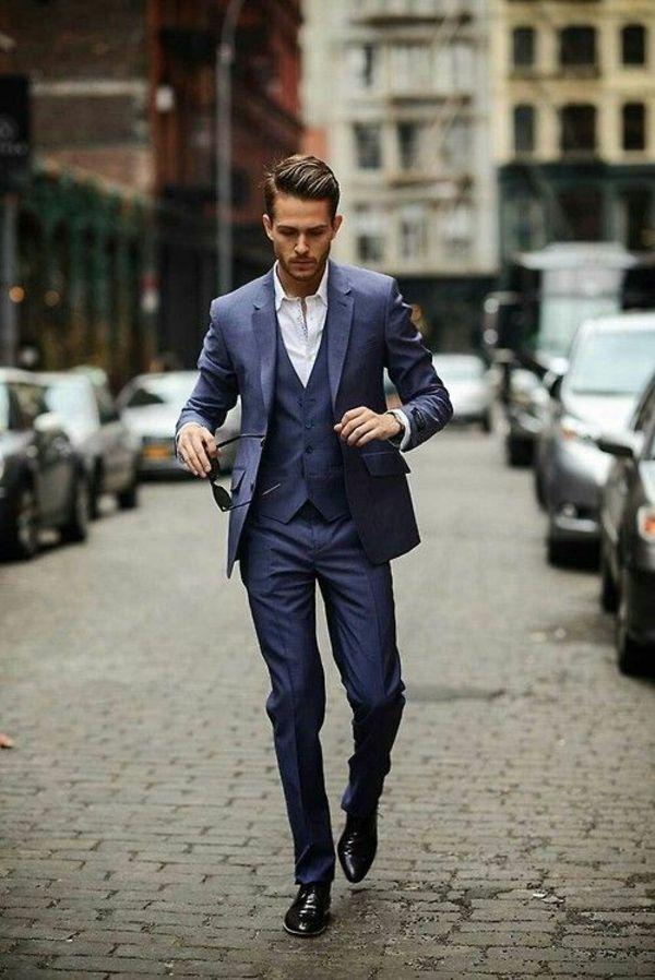 Italienischer Anzug steht für einwandfreie Eleganz #mensfashion