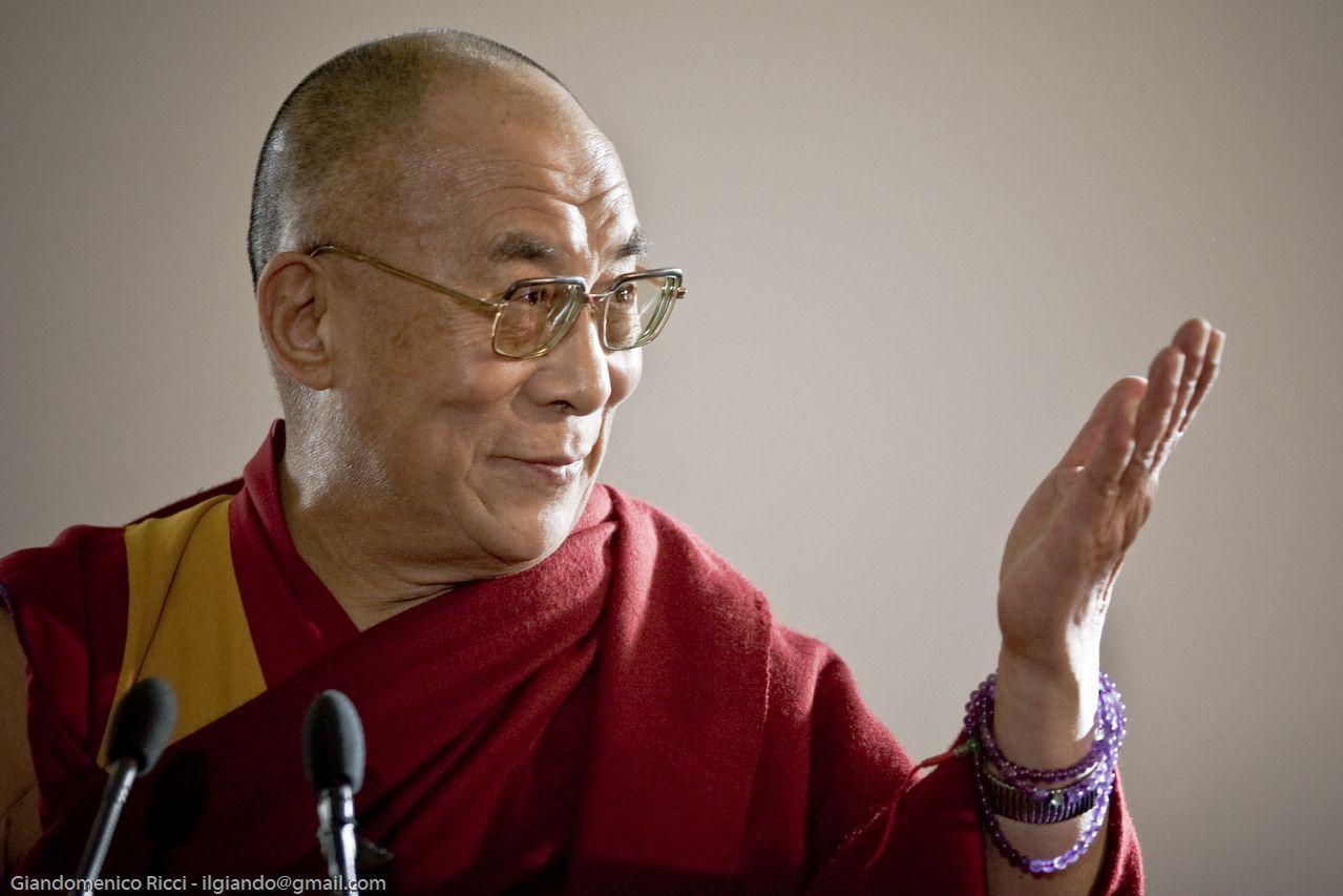 Photo of HH Dalai Lama by  Giandomenico Ricci