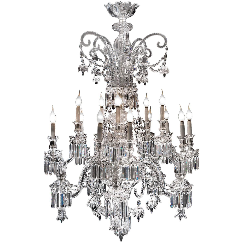 Amazing crystal chandelier of baccarat france 1825s chandeliers amazing crystal chandelier of baccarat france 1825s aloadofball Images
