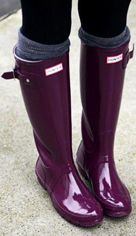318df081c11f Purple Hunter Boots