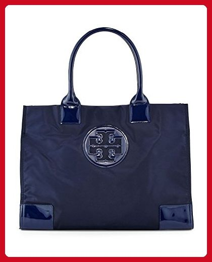 ca06070501e9 Tory Burch Ella Nylon Tote Patent Leather Bag Handbag French Navy - Totes  ( Amazon Partner-Link)