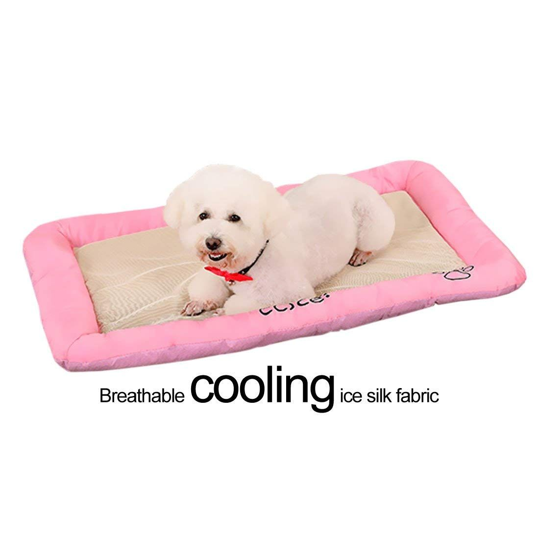 be1281271c Rectangle Padded Kennel Pet Bed