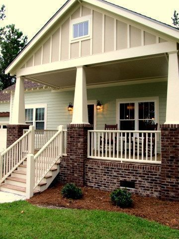 The Pamlico Cottage front porch, beautiful roof accents and columns #cottage #home #lounging #outdoors #riverfront #subdivision #gated #community #neighbors #creek #boating #sailing #fishing #fun #kayaking #biking #nature #trails #outdoors #relax #summer #AP #Pamlico #adventure #Minnesott #coastal #carolina #beach #coastal #coastaldecor #landscaping #private #relaxingsummerporches The Pamlico Cottage front porch, beautiful roof accents and columns #cottage #home #lounging #outdoors #riverfront # #relaxingsummerporches