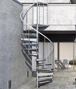 con FX Outdoor Spiral Staircase   Porch ideas   Pinterest   Spiral ...