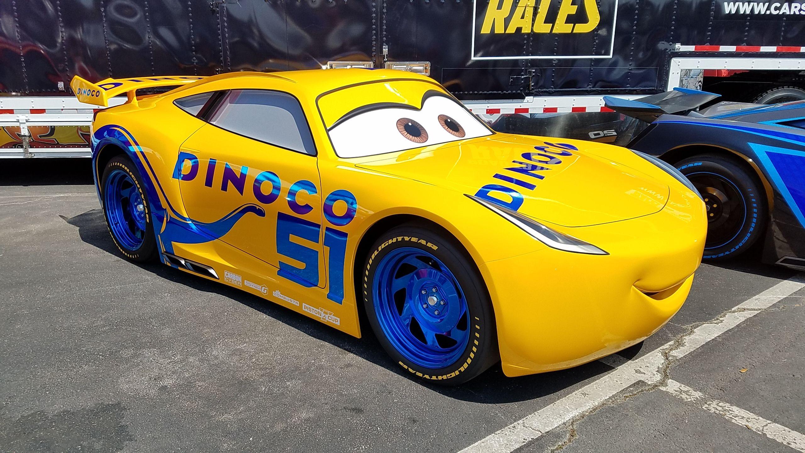 Cruz Ramirez Cars 3 Dinoco Disney Characters Modern Cruz