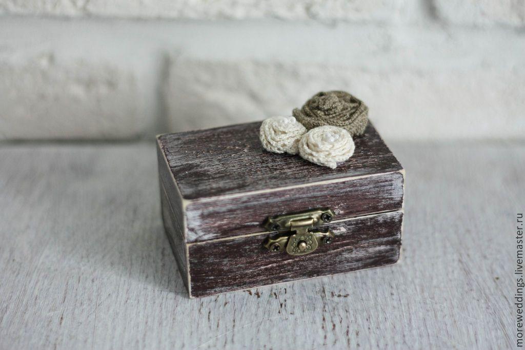 Коробочка для колец на свадьбу купить