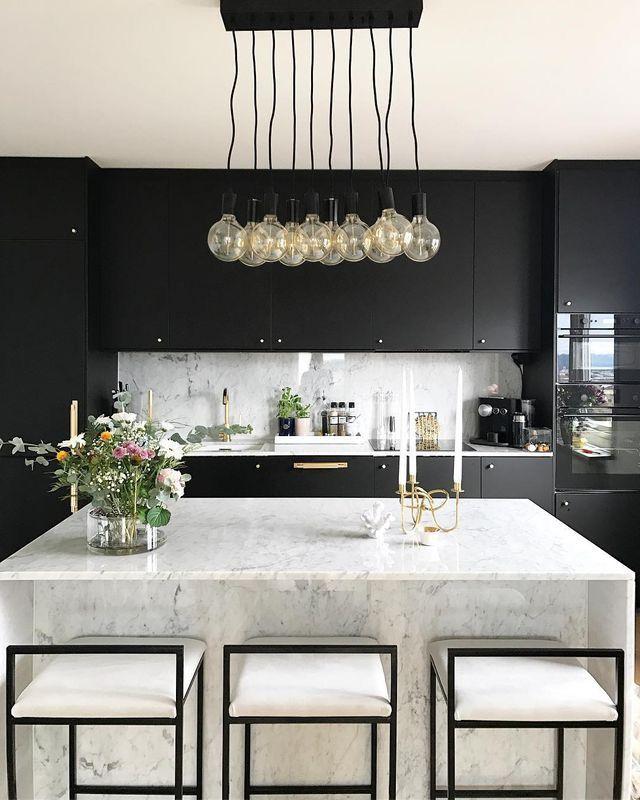 Photo of Her Happy Habits kitchen photography classy modern beautiful elegant marble kitc …