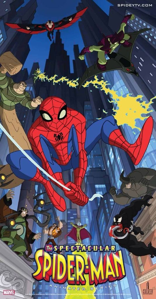 Spectacular Indeed Looking At The Spectacular Spider Man Animated Series Spiderman Cartoon Spectacular Spider Man Spiderman