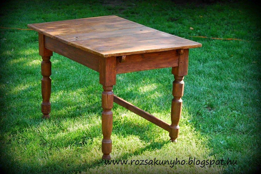 Handmade by Zsu Paraszt asztal megsimogatva ;) Rustic