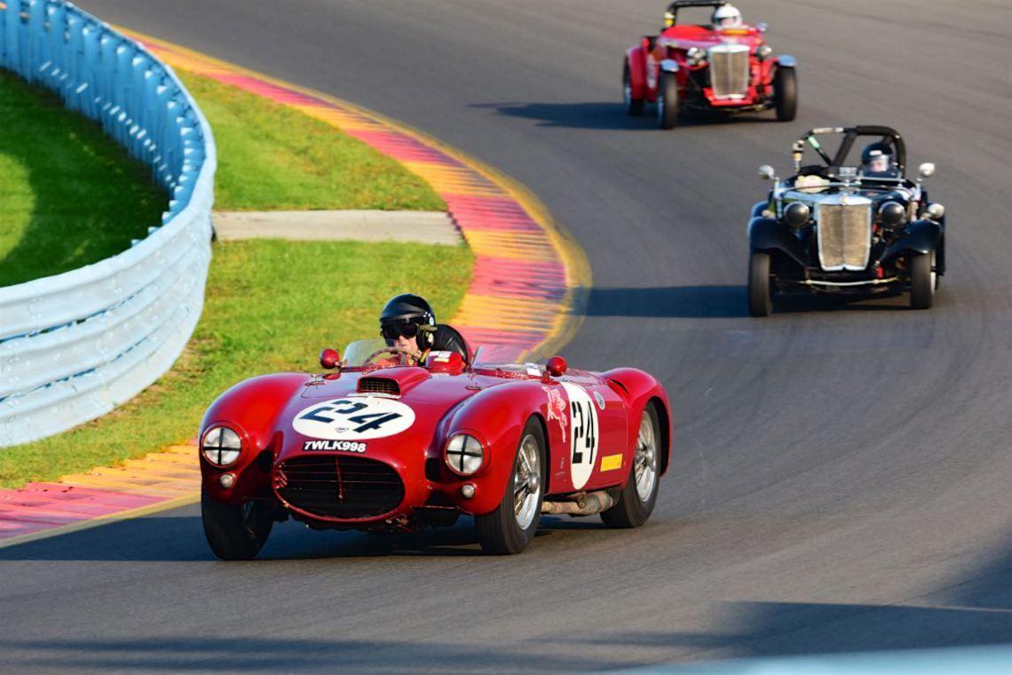 U.S. Vintage Grand Prix Watkins Glen Lancia D24/5 - Peter Giddings ...