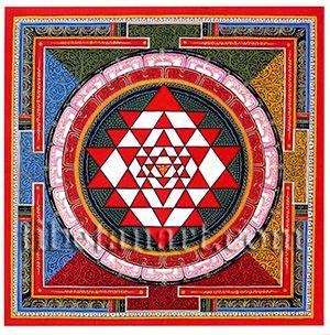 Sri Yantra Postcard