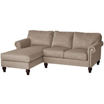 Alton Tan 2 Piece Left Arm Chaise Sectional Sectional Furniture Sectional Sofa Sofa Furniture