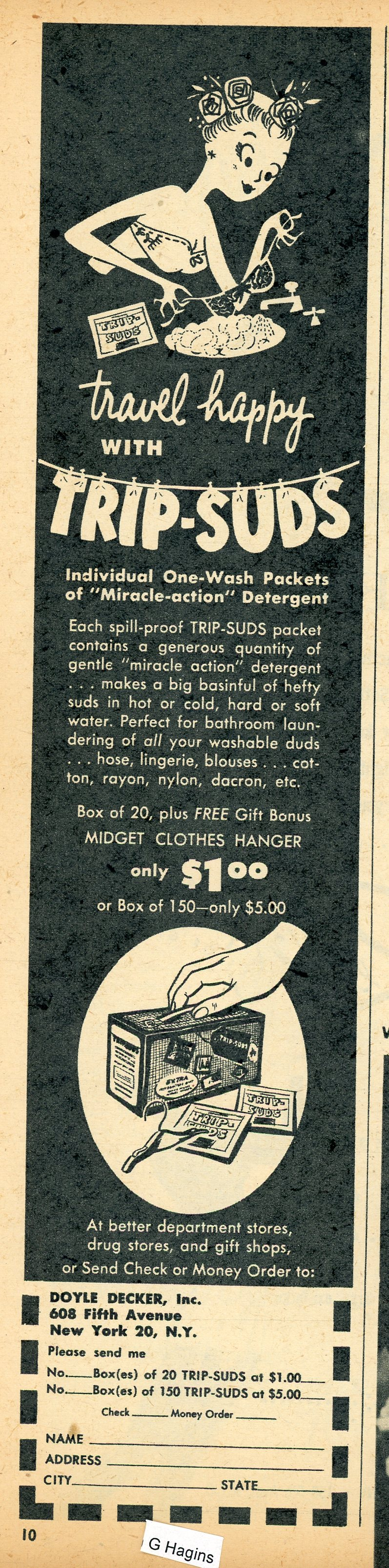 1955 ad. Hagins collection.