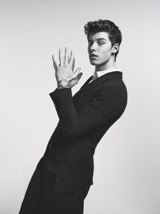 Shawn's collab with Armani... Looking so damn hot | Shawn ...