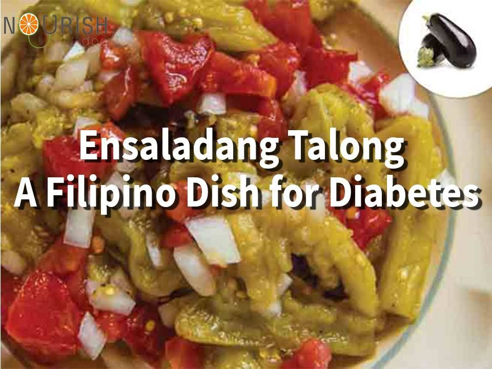 Try filipino dish ensaladang talong if you have diabetes its low try filipino dish ensaladang talong if you have diabetes its low glycemic index and high fiber content help to control blood sugar levels forumfinder Image collections