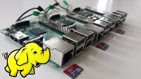 Raspberry PI 2 Hadoop 2 Cluster - Jonas Widriksson