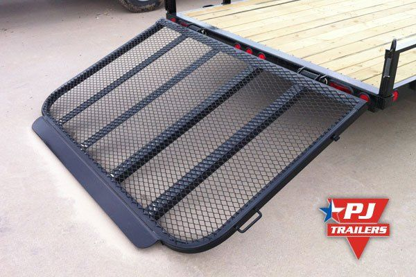 ramp-gate-transition-lip | Trailer building | Trailer ramps, Utility