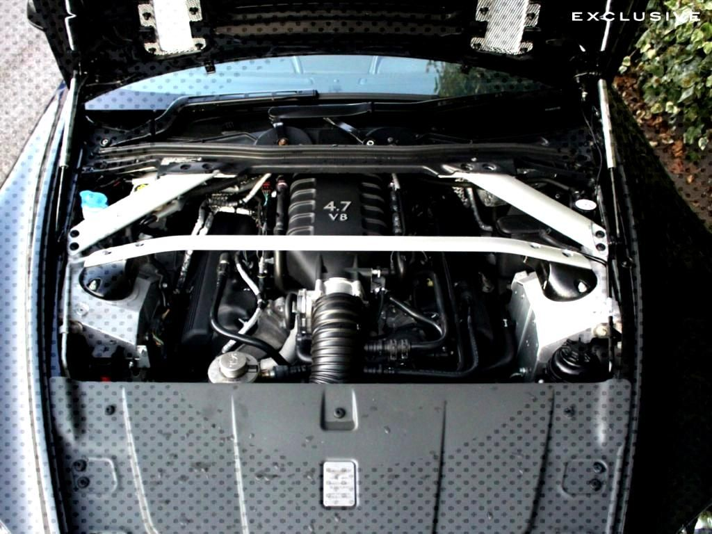 Aston Martin stunning Vantage S Engine