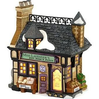 Dickens Village Miss Lavenders Soaps & Sachets 4030358