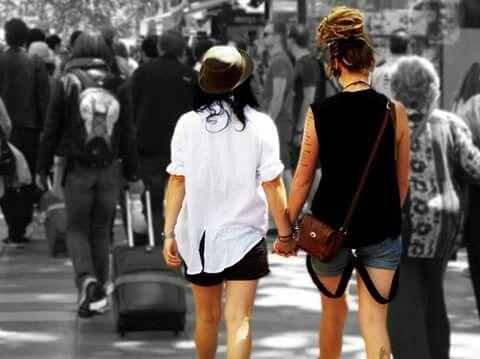 Donne innamorate Barcellona