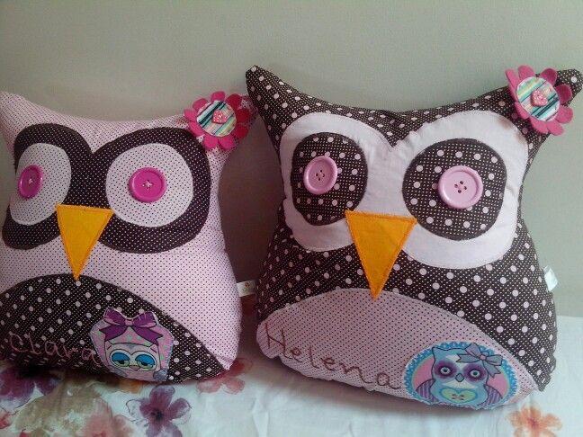 Almofadas owl!