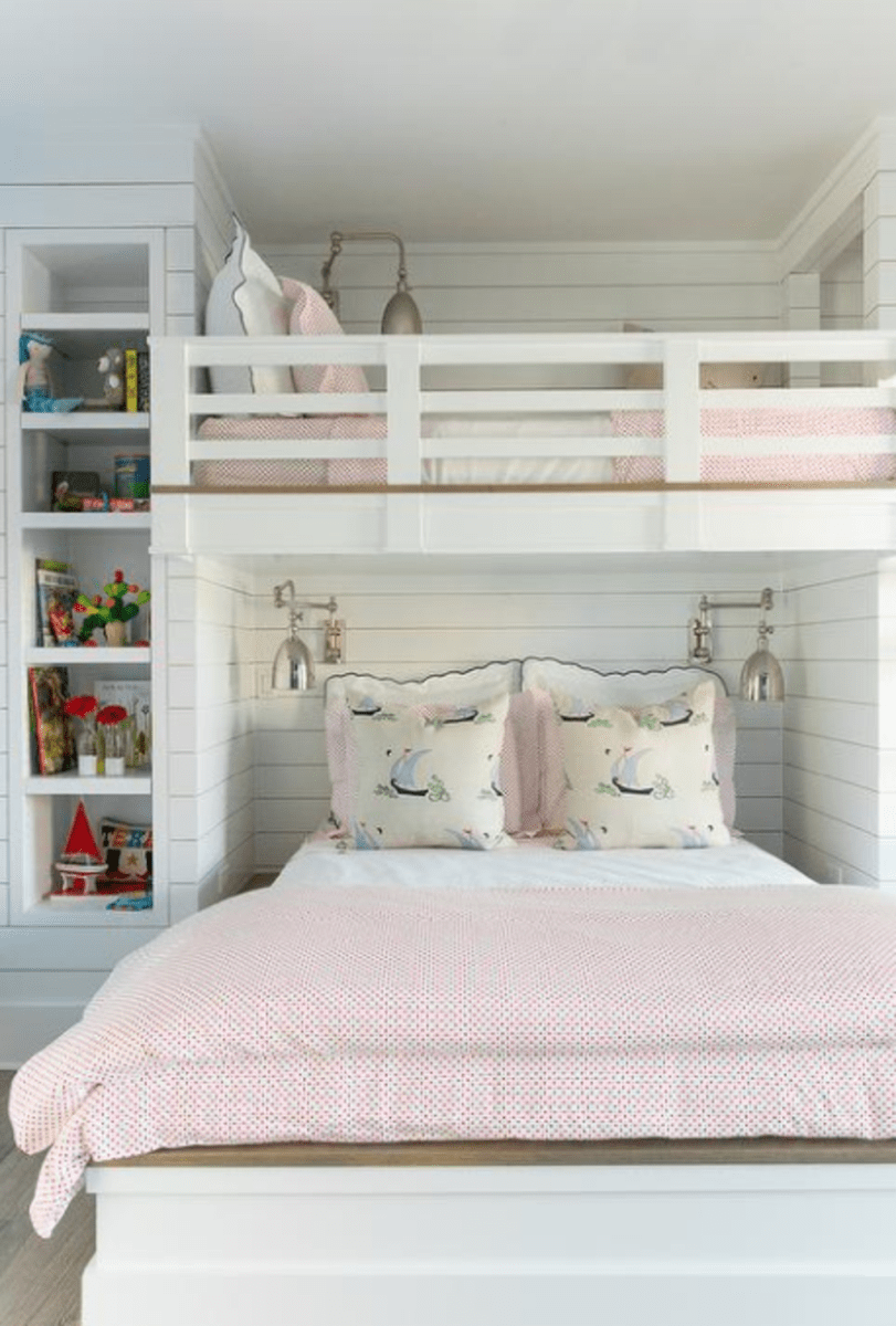 Amazing Bunk Bed Ideas For A Dream Girls And Sisters Room You Wish You Had As A Kid Part 1 Amazing Bed Bunk D Cool Bunk Beds Bunk Bed Designs Kids Bunk