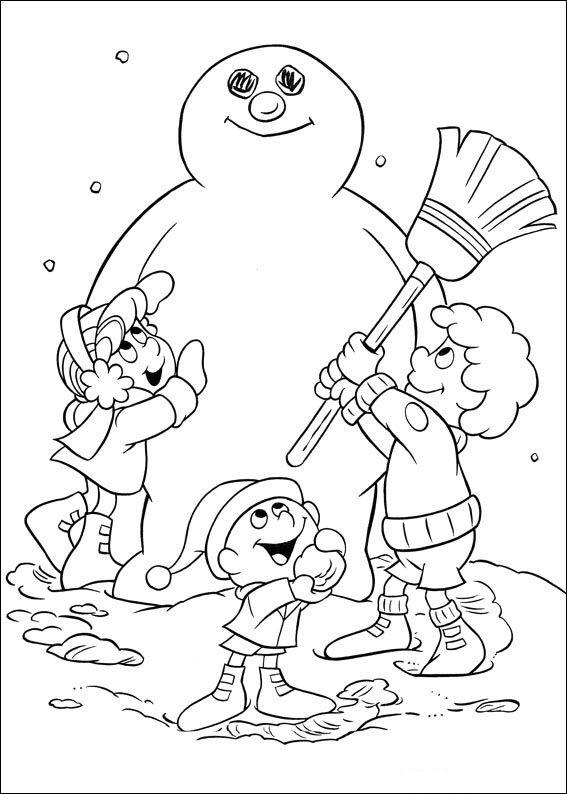 frosty der schneemann 1 ausmalbilder für kinder